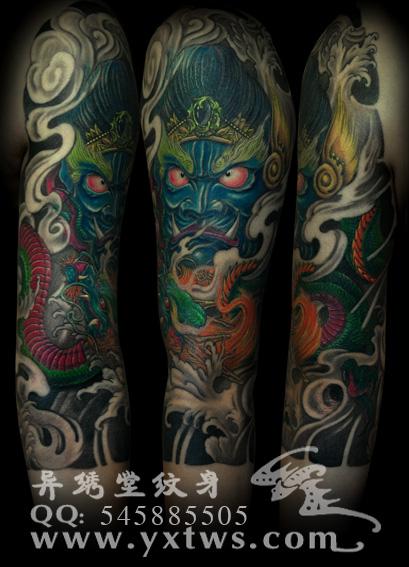 金刚龙纹身 默认相册图片